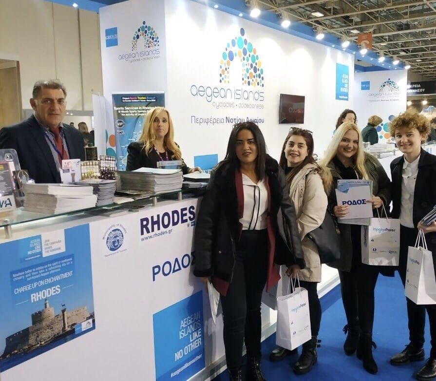 Ξεχωριστή η παρουσία της Ρόδου και στη Διεθνή Έκθεση Τουρισμού Athens International Tourism Expo 2018