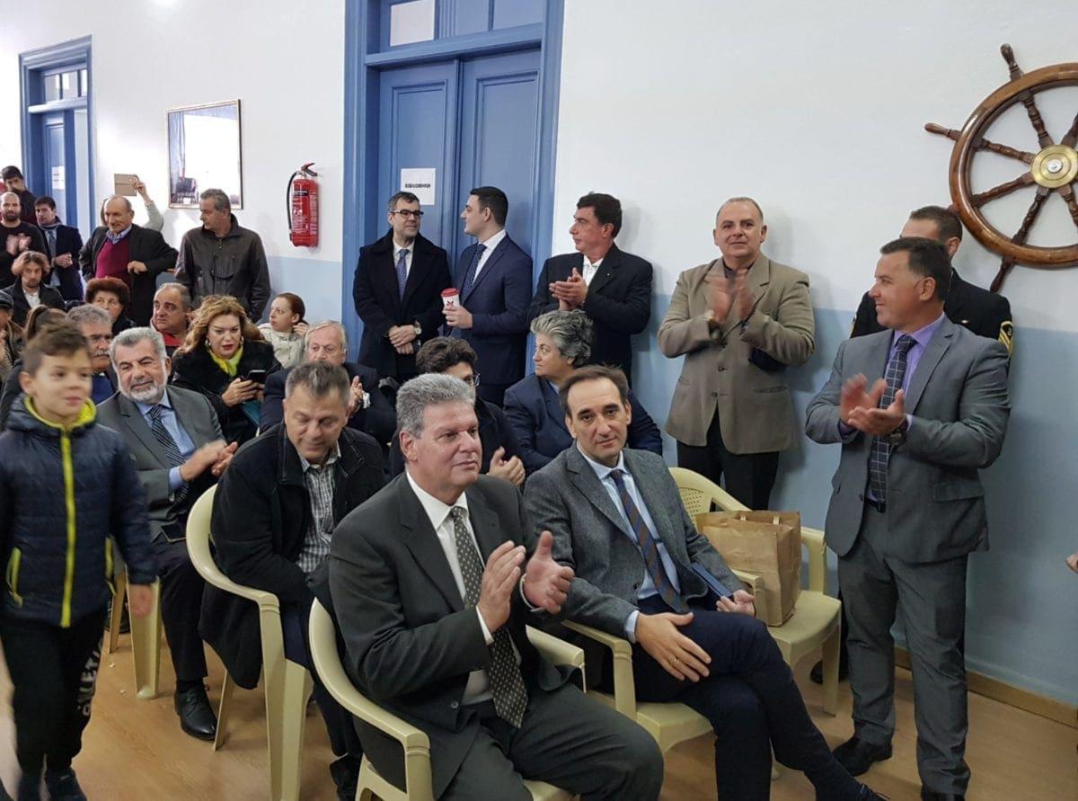 Παρουσία Γλυνού στα επίσημα εγκαίνια της Ακαδημίας Εμπορικού Ναυτικού στην Κάλυμνο
