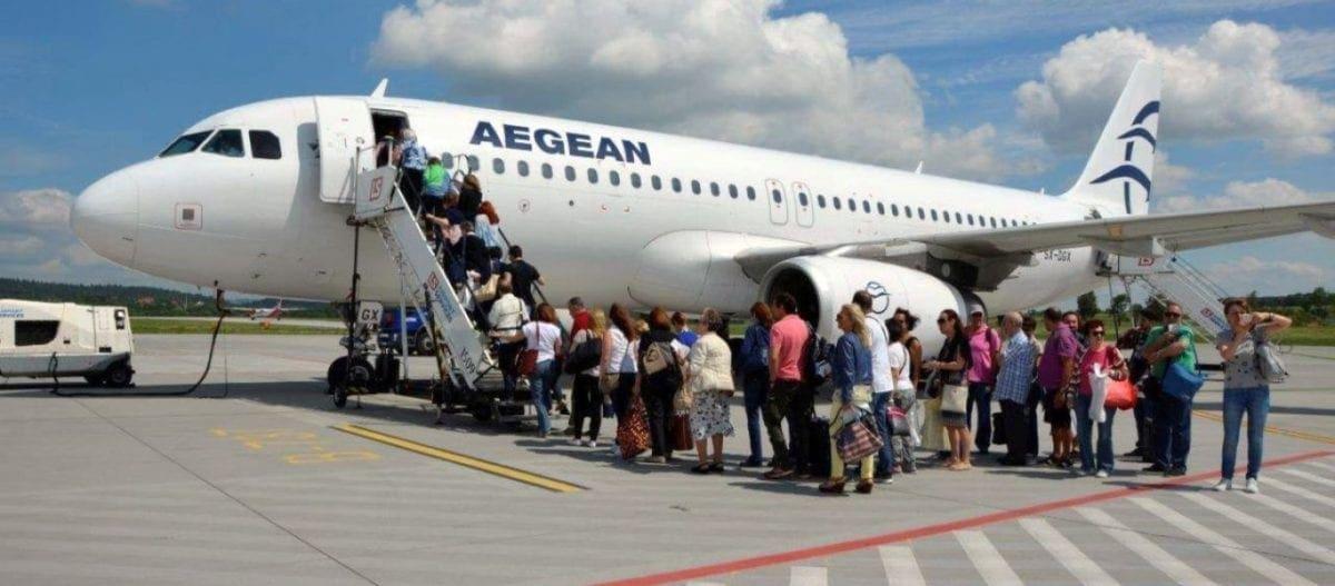 Aegean Airlines: Με αμερικανικούς κινητήρες 1,5 δισ. δολαρίων τα αεροσκάφη της εταιρίας