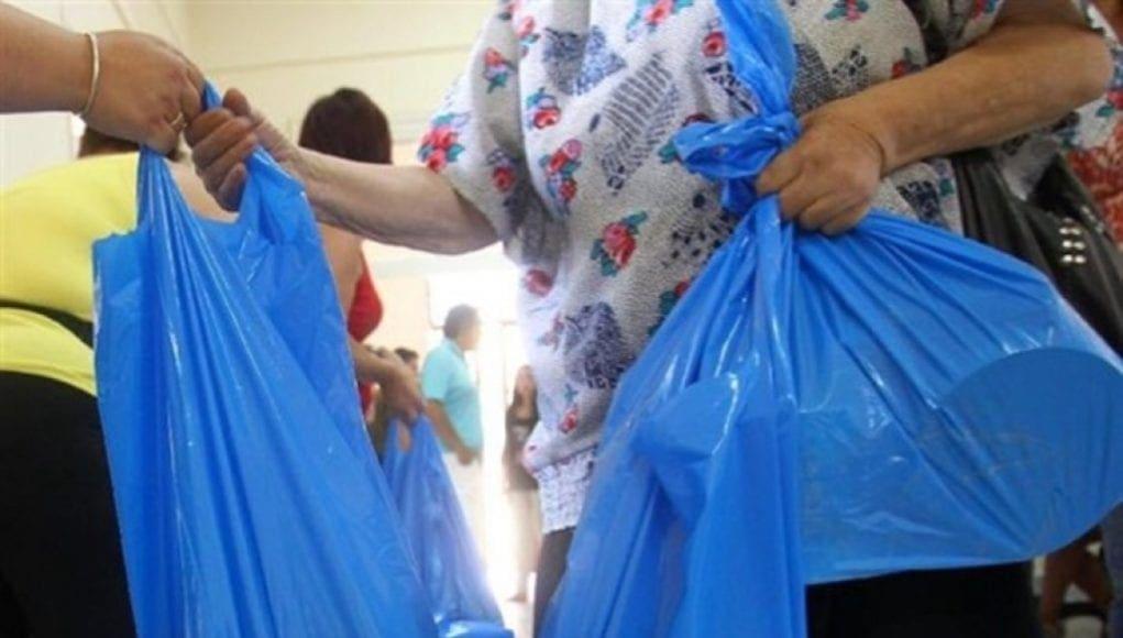 Συγκέντρωση και Διανομή τροφίμων  από τη Γραμματεία Ανέργων του Ε.Κ.Ρ