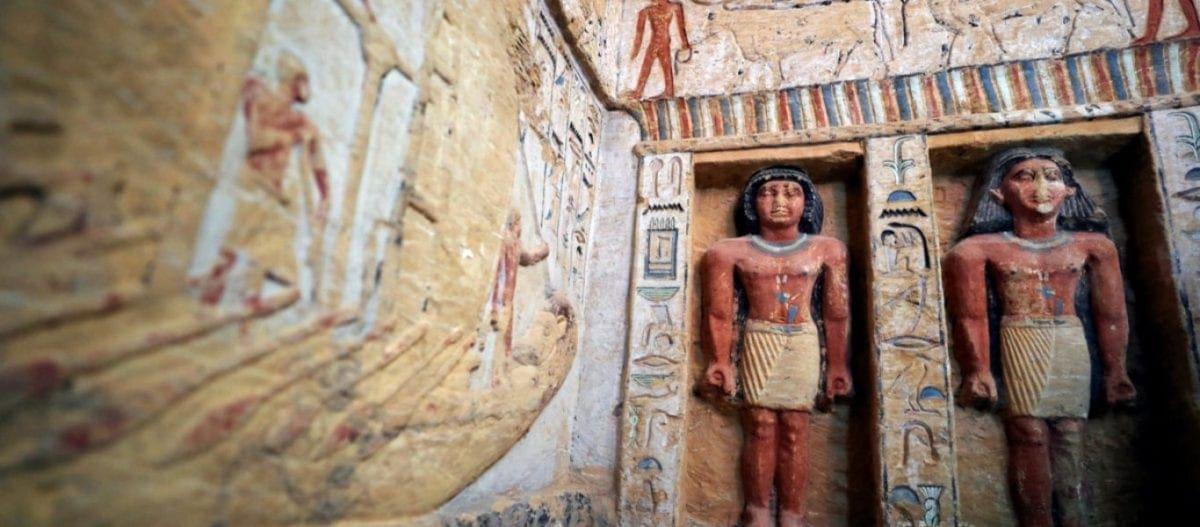 Ανακαλύφθηκε τάφος 4.400 χρόνων υψηλόβαθμου ιερέα στην Αίγυπτο