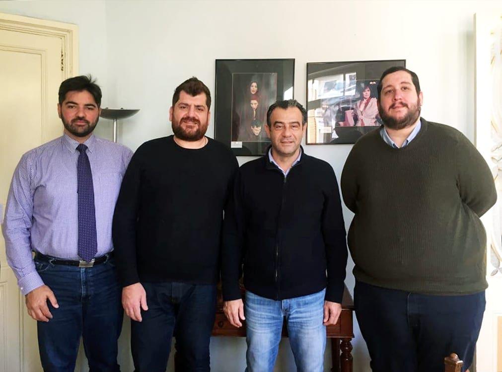 Συνάντηση του Σπιτιού της Ευρώπης στη Ρόδο με τον Αντιδήμαρχο Πολιτισμού, κο Τέρη Χατζηιωάννου