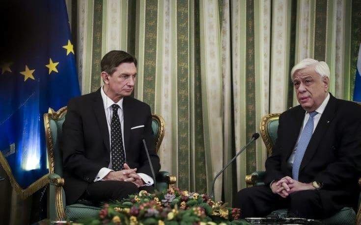 Παυλόπουλος σε Σκόπια: Δεν δεχόμαστε αυθαίρετες ερμηνείες της Συμφωνίας των Πρεσπών