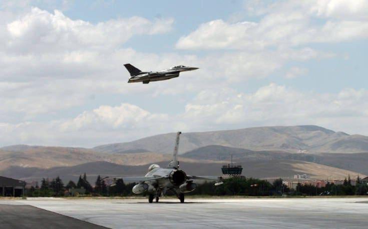 Σκληρές αερομαχίες μεταξύ ελληνικών και τουρκικών μαχητικών
