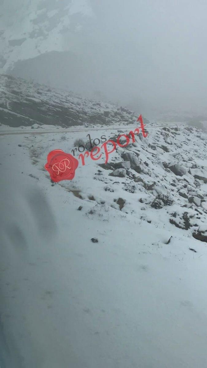 Ανακοίνωση για περιορισμό των μετακινήσεων των Ι.Χ. μέσων μεταφοράς λόγω παγετού σε περιοχές της Ρόδου