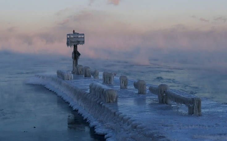 Οι ΗΠΑ παγώνουν στους -50 βαθμούς Κελσίου, εννιά οι νεκροί