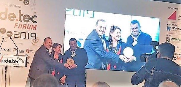 2 Περιβαλλοντικά βραβεία GREEK GREEN AWARDS 2019 στον Δήμο Ρόδου και στην ΔΕΥΑΡ