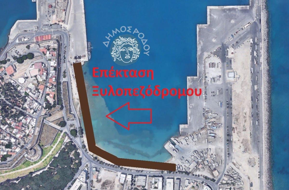 Ξεκινά άμεσα η επέκταση του Ξύλινου Πεζόδρομου ως το λιμάνι της Ακαντιάς