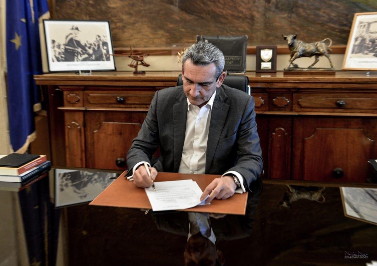 620.000 ευρώ από την Περιφέρεια Νοτίου Αιγαίου, για την ανακατασκευή του βασικού οδικού δικτύου Μεγίστης