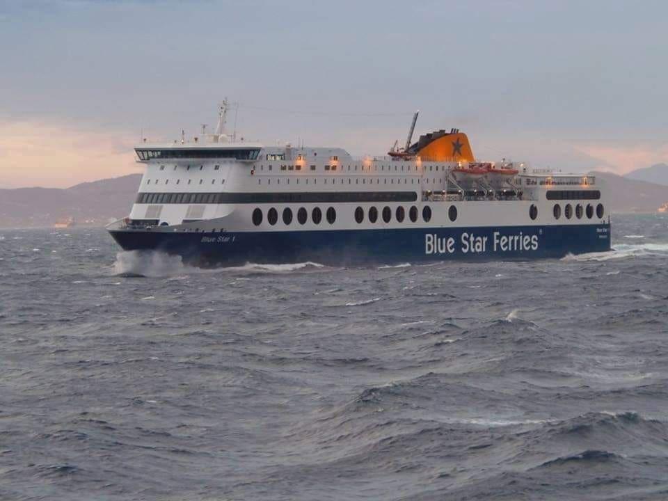 Ενημέρωση για το δρομολόγιο των Blue Star 2 & Blue Star Patmos από και προς Ρόδο