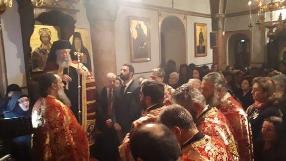 Εορτάστηκε με μεγαλοπρέπεια η μνήμη του Οσίου Μελετίου του εν Υψενή – Φωτογραφίες