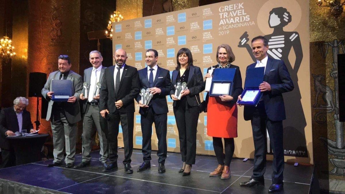 Σάρωσε η Ρόδος τα βραβεία «Greek Travel Awards Σκανδιναβίας»
