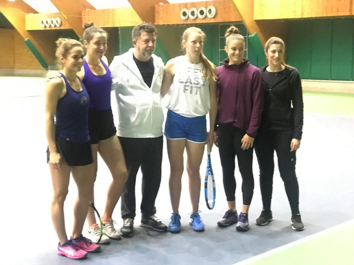 Fed Cup: Η Ελληνική εθνικη ομάδα των γυναικών στην Αγγλία