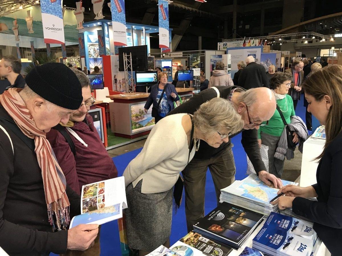 """Ξεπέρασε κάθε προσδοκία ο αριθμός των επισκεπτών στο περίπτερο της Ρόδου στη διεθνή τουριστική έκθεση """"Salon des Vacances"""" στις Βρυξέλλες"""