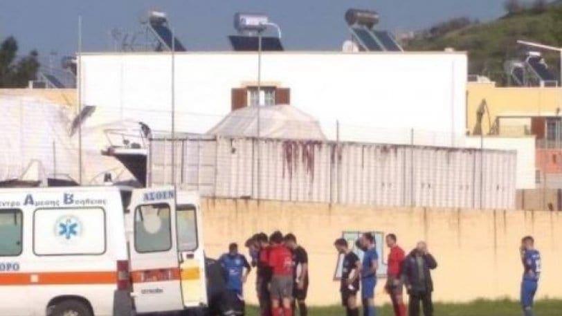 Παίκτης στη Λέρο έχασε τις αισθήσεις του και μεταφέρθηκε με ελικόπτερο στη Ρόδο