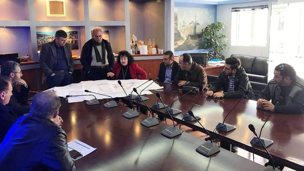 Συνάντηση Δ. Κρητικού και μελών της παράταξης με τον πρόεδρο του Δημοτικού Λιμενικού Ταμείου Νότιας Δωδεκανήσου Μ. Χριστοδούλου