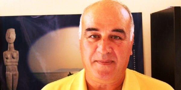 Yποψήφιος με τον Μανώλη Γλυνό ο Δημήτρης Γρυπάρης από την Σύρο
