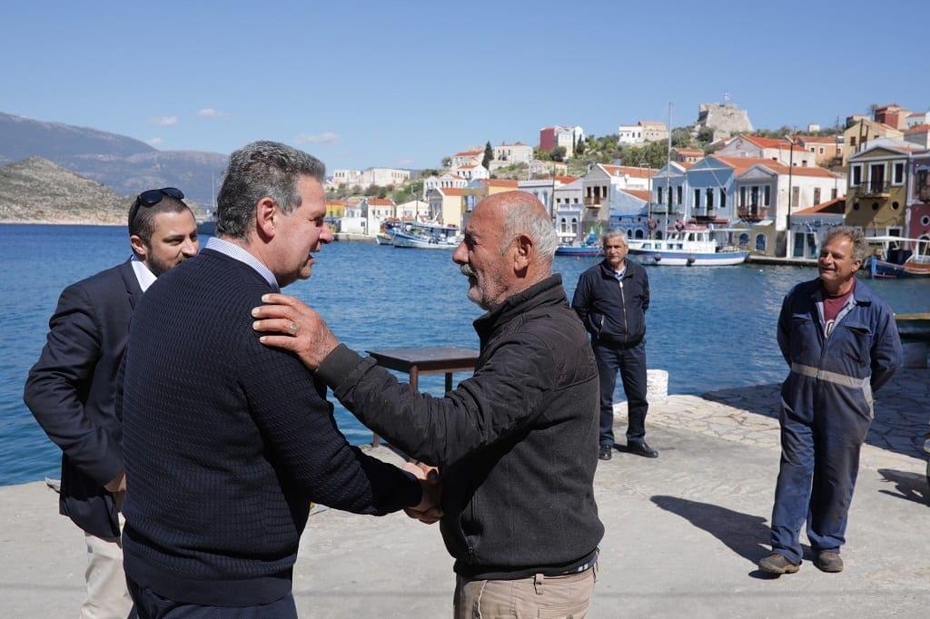 Μανώλης Γλυνός από το Καστελλόριζο: Η «Συμμαχία» θα αποτελέσει τη γέφυρα που θα ενώσει τα νησιά μας