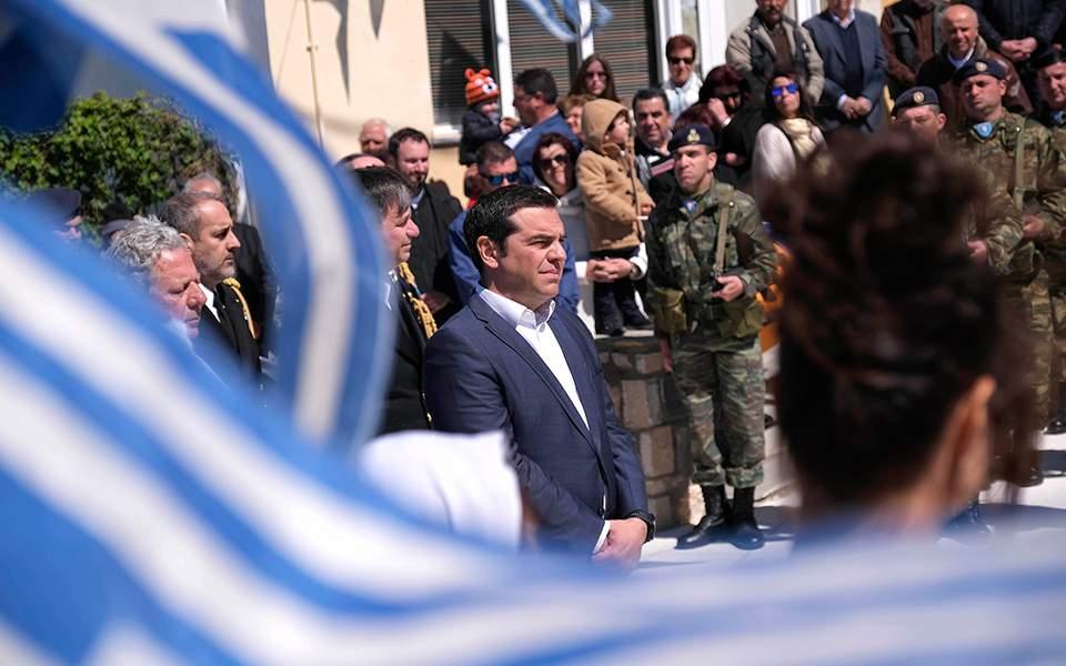 Τσίπρας από Αγαθονήσι: Τουρκικά μαχητικά ανάγκασαν σε ελιγμούς το ελικόπτερο στο οποίο επέβαινα