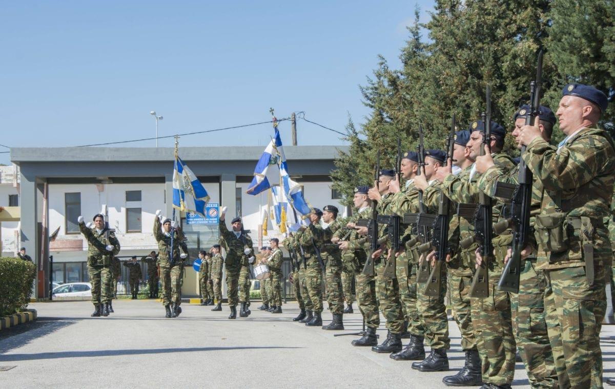 Η τελετή αλλαγής διοίκησης της 95 ΑΔΤΕ -Φωτογραφίες