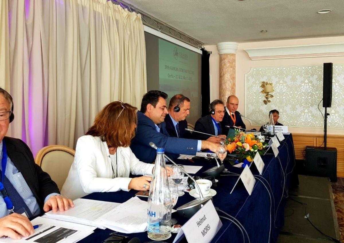 Θέμα: «Ν. Σαντορινιός: Η νησιωτική πολιτική δεν είναι μόνο διακηρύξεις. Είναι οι πράξεις που ως κυβέρνηση υλοποιούμε για την βελτίωση της προσβασιμότητας και της ανάπτυξης των νησιών μας»