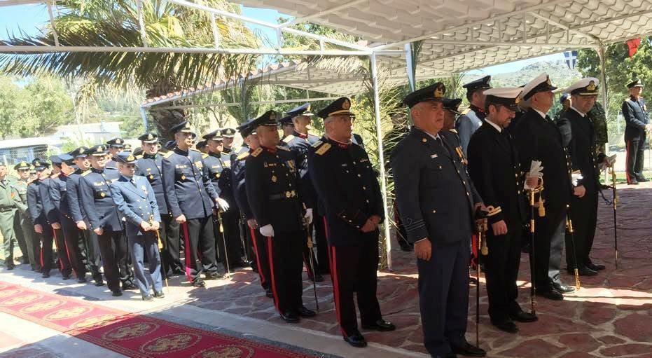Eορτασμός στη μνήμη του προστάτη του Στρατού Ξηράς «Αγίου Γεωργίου» από την 95 Α∆ΤΕ