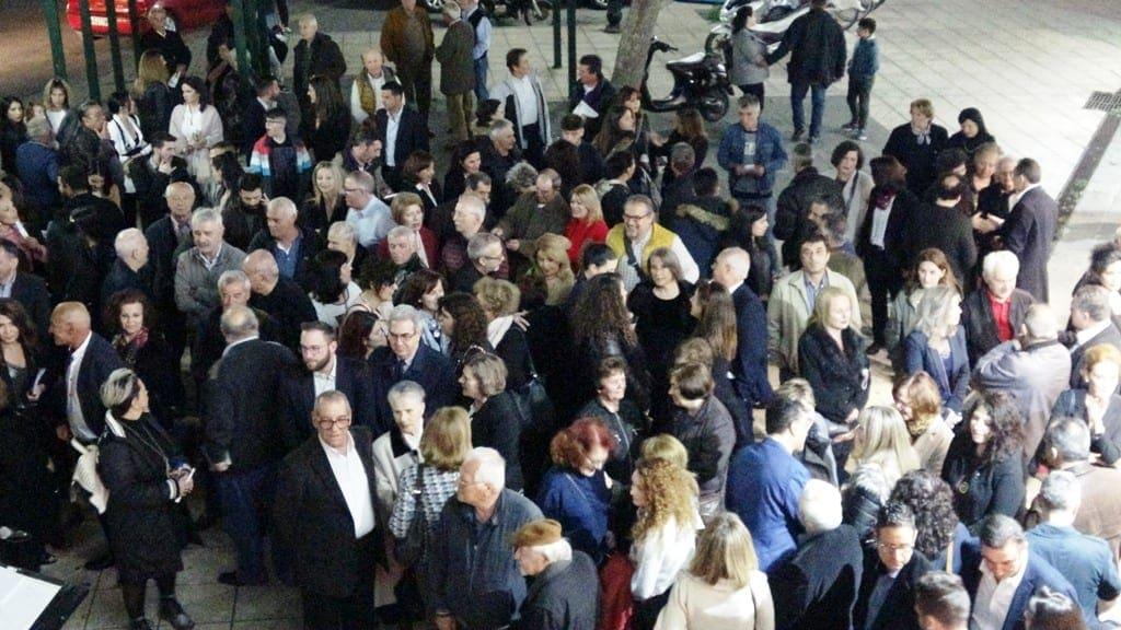 Ο κόσμος δήλωσε έμπρακτα τη στήριξή του στην παράταξη του Δημήτρη Κρητικού