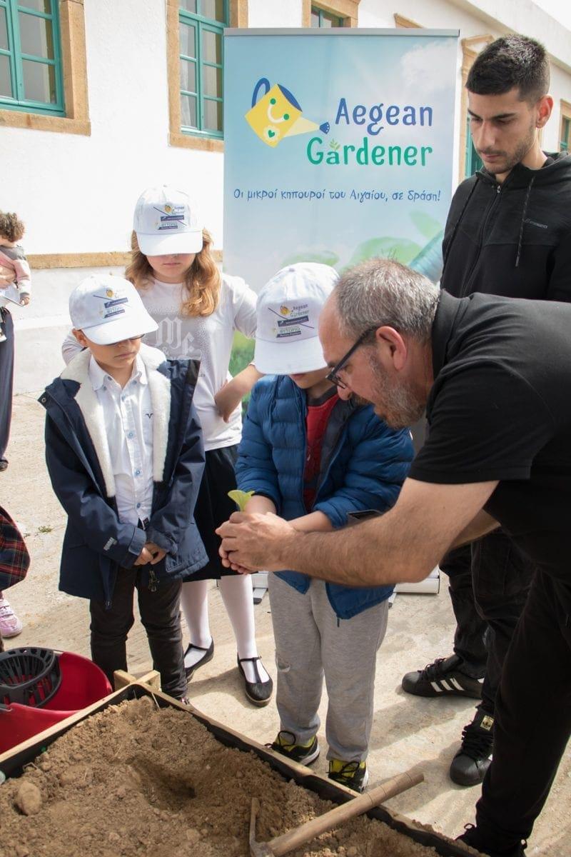 """Με μεγάλη συμμετοχή πραγματοποιήθηκε η δράση """"Aegean Mamas Know Best"""""""" & """"Aegean Gardeners"""""""