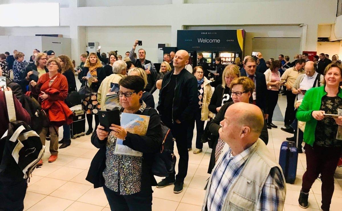 Εξαιρετικά θερμή υποδοχή του Δήμου Ρόδου στους Φινλανδούς τουρίστες που ήλθαν νωρίτερα στο νησί για τον Μαραθώνιο