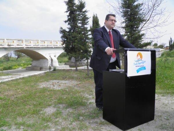 Ανακοινώθηκε σήμερα στη Ρόδο μπροστά στη Γέφυρα της Κρεμαστής η συμμετοχή της Περιφερειακής Παράταξης «Πνοή Δημιουργίας Νοτίου Αιγαίου»