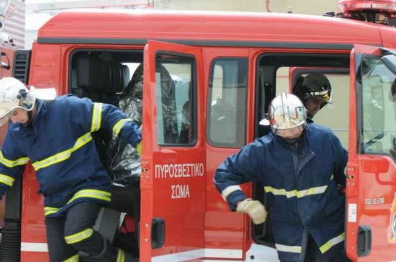Εκδήλωση πυρκαγιάς σε οικίσκο στην Κω