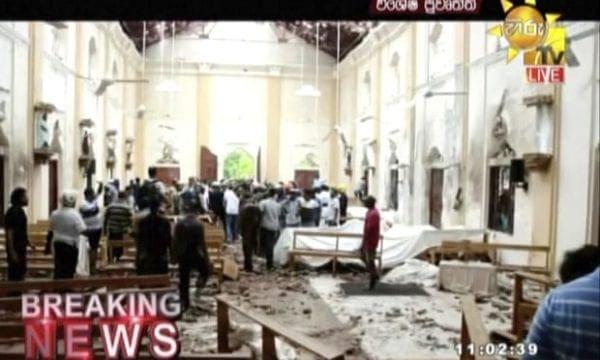 Μακελειό στη Σρι Λάνκα: Εκρήξεις σε εκκλησίες και ξενοδοχεία την Κυριακή του Πάσχα για τους Καθολικούς- Πάνω από 100 νεκροί