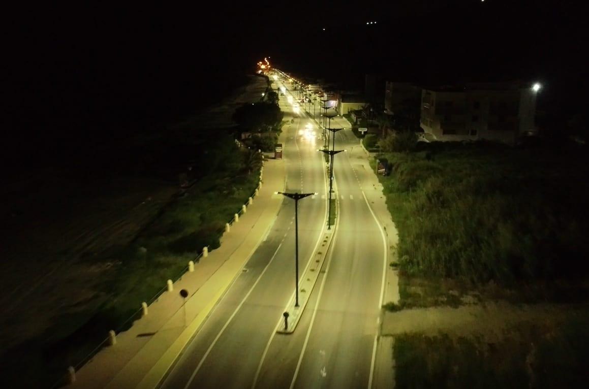 Εντυπωσιακή διαφορά με τις λάμπες LED που τοποθέτησε ο Δήμος – Φωτογραφίες