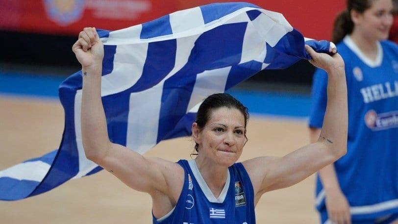 Η Εβίνα Μάλτση στο Galis Basketball 3 on 3 στη Ρόδο