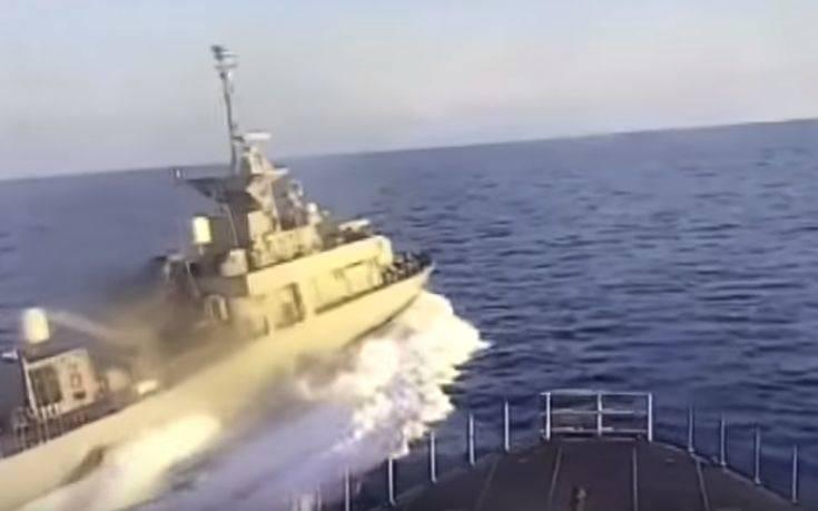 «Ελληνική πυραυλάκατος παρενόχλησε τουρκική κορβέτα» γράφει το Anadolu (video)