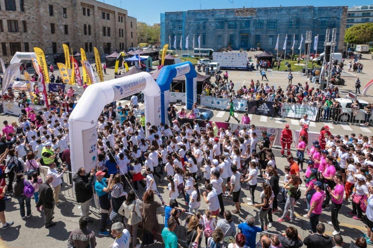 Έχει ημερομηνία ο 7ος κι επόμενος Διεθνής Μαραθώνιος Δρόμος Ρόδου