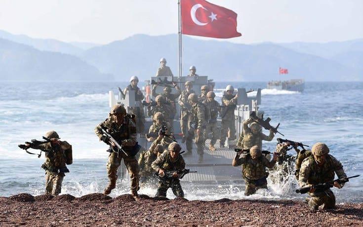 Τουρκική άσκηση κοντά στο Καστελόριζο την ημέρα των εκλογών στην Ελλάδα