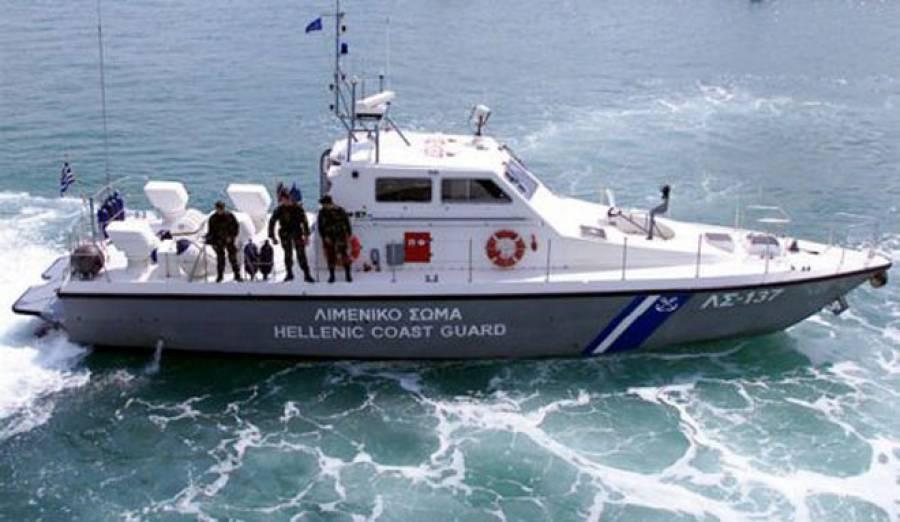 Εντοπισμός και διάσωση αλλοδαπών και σύλληψη του αλλοδαπού διακινητή τους στη Σύμη