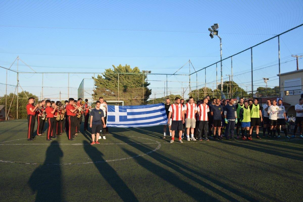 Απόλυτη επιτυχία στο 1ο Ποδοσφαιρικό πρωτάθλημα 6Χ6 των Εθελοντών Αιμοδοτών