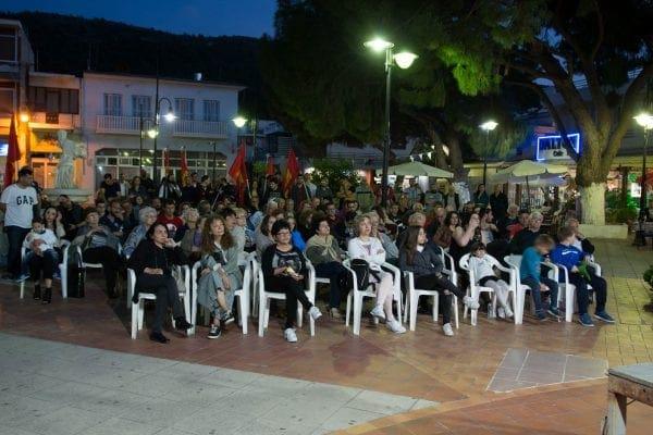 Πραγματοποιήθηκε στην πλατεία Παραδεισίου η προεκλογική συγκέντρωση του ΚΚΕ και της Λαϊκής Συσπείρωσης