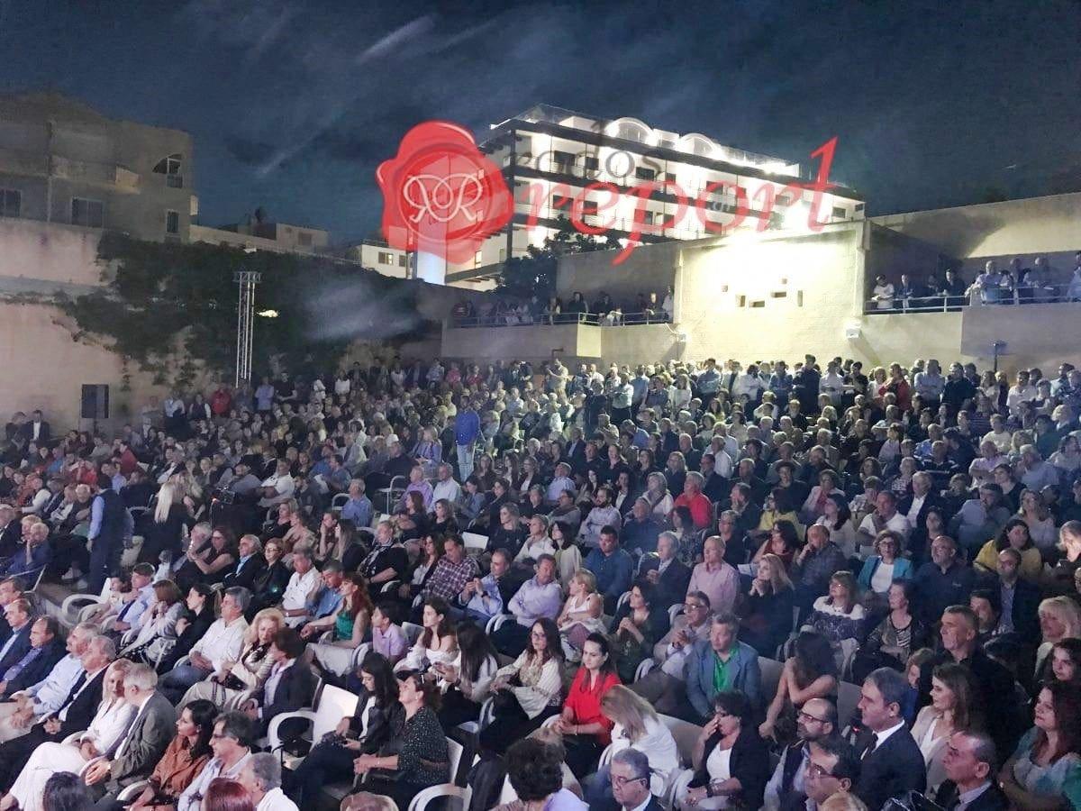 """Κατάμεστο το """"ΡΟΔΟΝ"""" στην κεντρική προεκλογική ομιλία του Φώτη Χατζηδιάκου – Φωτογραφίες"""
