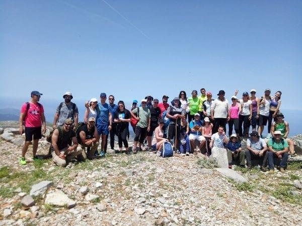 Ολοκληρώθηκε με επιτυχία η 4η ορεινή πεζοπορία Ανάβασης – Κατάβασης Αταβύρου,
