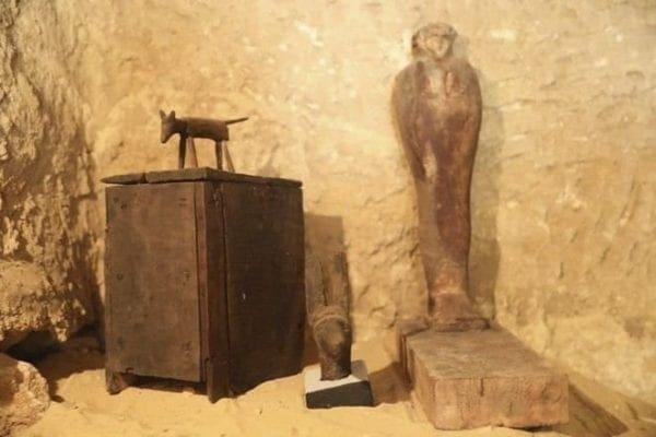 Αίγυπτος: Ανακαλύφθηκε νεκρόπολη του Παλαιού Βασιλείου 4.500 ετών