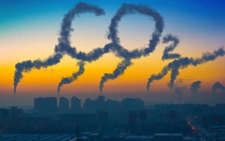 Τα επίπεδα του διοξειδίου του άνθρακα σημείωσαν ρεκόρ