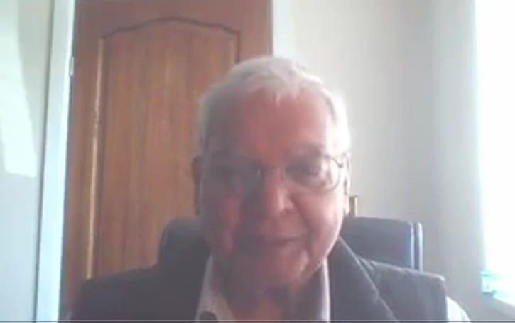 Ο παγκοσμίως αναγνωρισμένος επιστήμονας Gyan N. Pande  μιλά για τον Δρ Στέφανο Ι. Δράκο