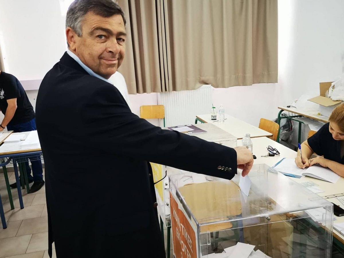 Δήλωση του Δημήτρη Κρητικού για το  εκλογικό αποτέλεσμα
