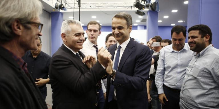 Εσυρε τον Τσίπρα σε εκλογές στις 30 Ιουνίου ο Μητσοτάκης -Νίκη με 9,4%, γαλάζιος ο χάρτης