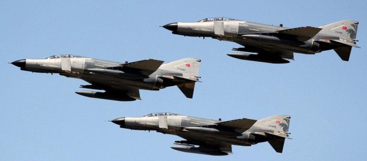 Συντριβή τουρκικού F-4