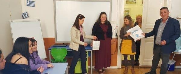 Το 3ο Λύκειο (Καπνοβιομηχανία) στο Ελληνικό Σχολείο της Ουγγαρίας: Οι μαθητές εξερευνούν τη σύγχρονη Ελληνική Ιστορία