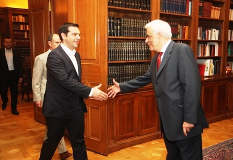 Στον πρόεδρο της Δημοκρατίας ο Τσίπρας για διάλυση της βουλής και προκήρυξη εκλογών
